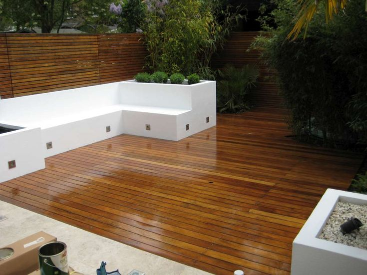 Small Decked Garden Ideas enthused monkey crafty diy decked garden terrace Small Decked Gardens Google Search