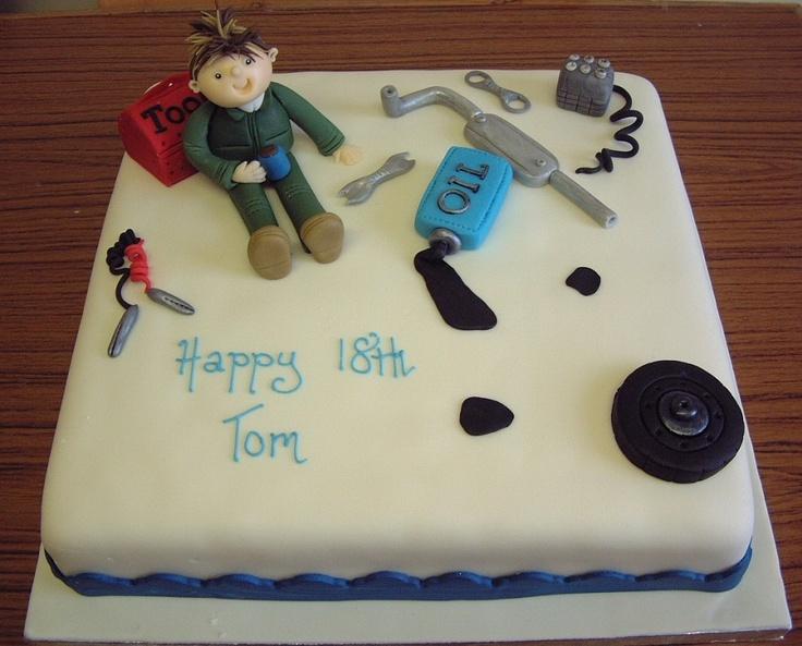 Mechanic Birthday Cake Ideas