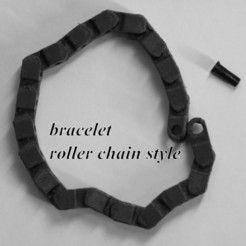 Bracelet roller chain more http://www.3d-fabric-jean-pierre.com/