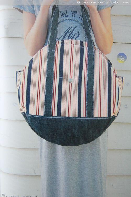 open top drum bag