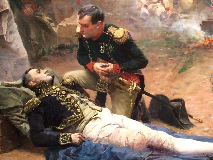 l'Empereur au chevet du Maréchal Lannes :