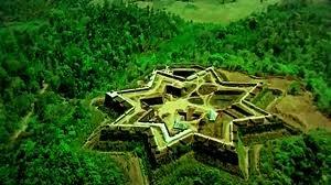 Beautiful Manzarabad fort belongs to Sultan Shan Tippu sulthan ( Tiger of Mysore) @Sakleshpur, Karnataka, India