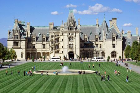 We visited the Biltmore Estate during our Great American Roadtrip.  We are already looking forward to our return trip. The Biltmore Estate built by the Vanderbilts in 1895.     Asheville, NC, USA Spring, 2015