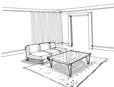 Interior Design Rendering How To Represent Textures