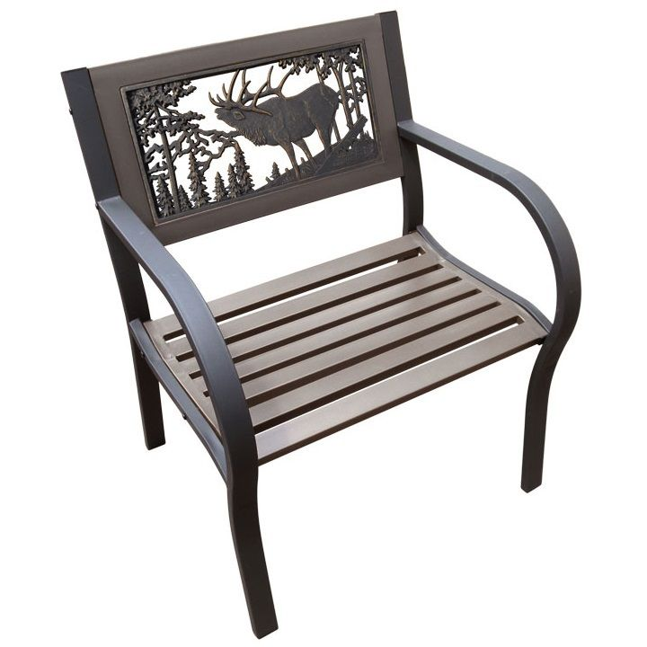 Elk 2-Tone Tube Steel Outdoor Chair | Elk Chair | Painted Sky