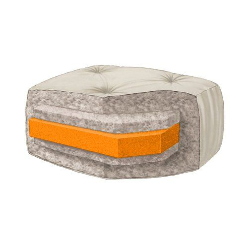 futon mattress the serta maple 4 in futon mattress