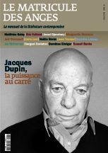 Le Matricule des Anges, magazine littéraire