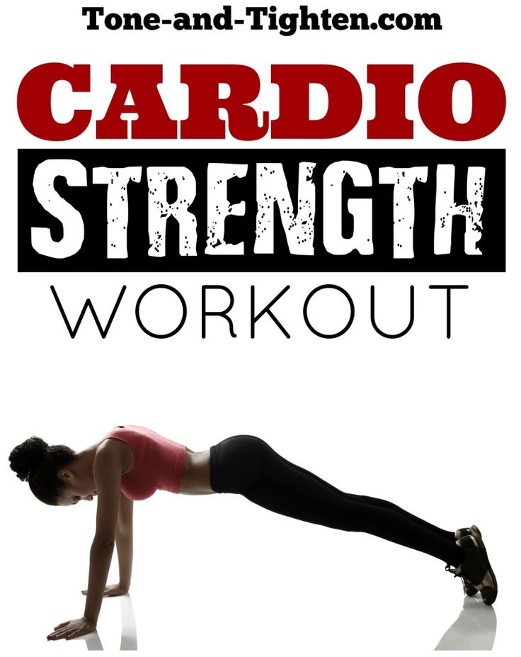 20-minute at-home cardio strength workout on Tone-and-Tighten.com
