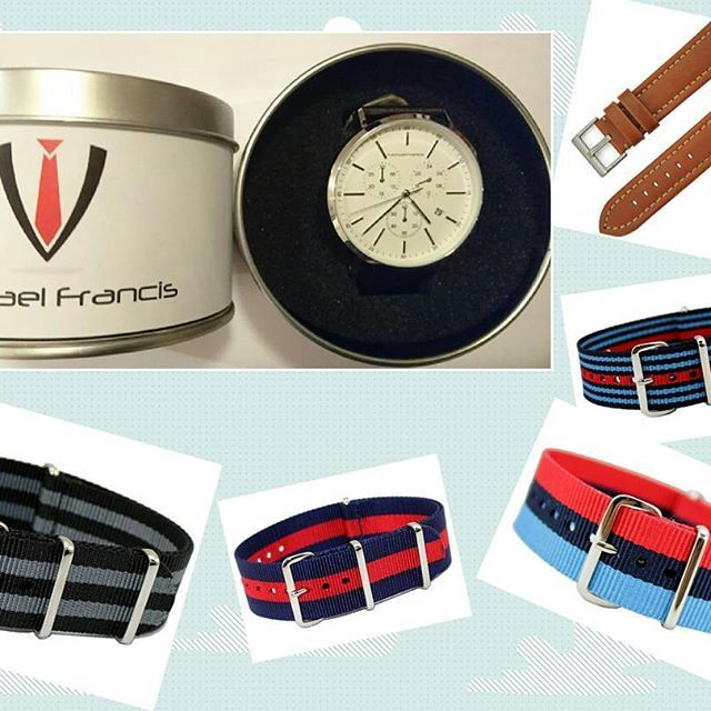 Some say that choice is the spice of life. Choose a wrist band that suits your style and we will attach it to your new Michael Francis watch. MICHAELFRANCISAUSTRALIA.COM  #men #mensstyle #menstyle #style #urbanstyle #dapper #menwithclass #classy#menwithstyle #bespoke #swag #luxury #model #menslife #lifestyle #menswear#mensfashion #win #winning #goals #mode #dandy #mnswr #guyswithstyle