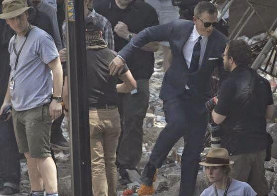 Onewstar: 007: infortunio sul set 'James Bond', Craig operato al ginocchio