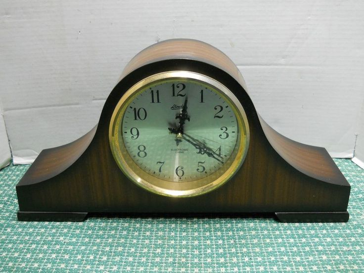 Vintage Linden Electronic Chime Mantel Clock Battery