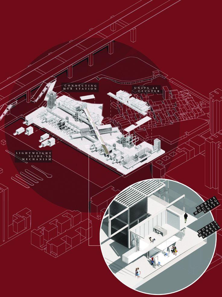 Tai Kiu Living Market / A Social Housing Initiative To Regenerate The  Market Culture Of Yuen. Architecture ...