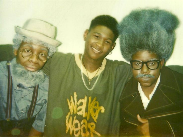 Kel Mitchell, Usher, and Kenan Thompson