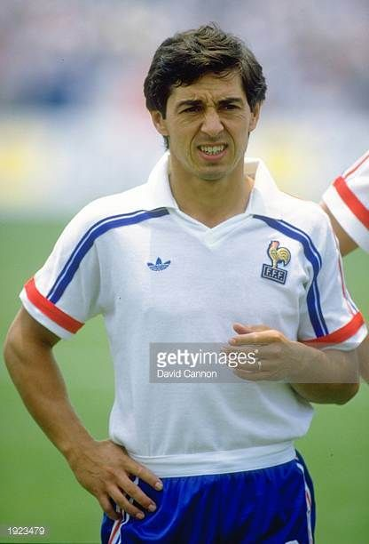 Portrait of Alain Giresse of France before the World Cup match against Italy at the Olympic Stadium in Mexico City France won the match 20 Mandatory...