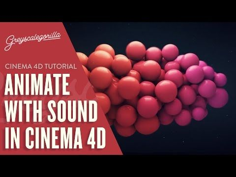Animate With Music: Using The Mograph Sound Effector in Cinema 4D   Greyscalegorilla