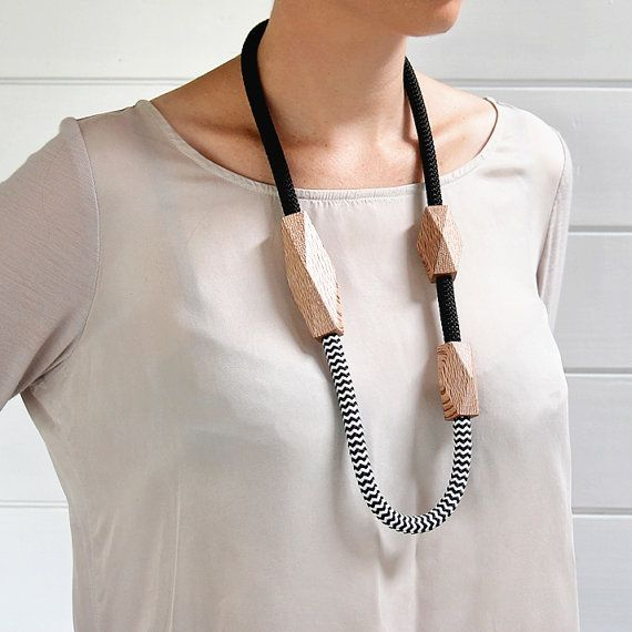 Rewarewa Rope Necklace Long by GwynethHulseDesign on Etsy