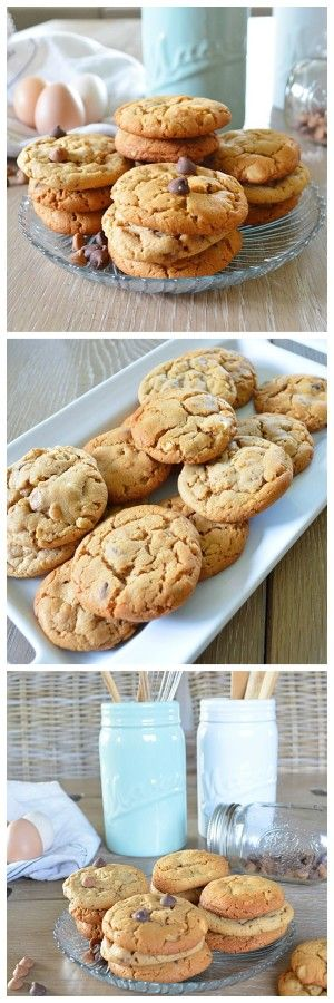 Triple Chip Cookies by freshandfit.org using fresh wholesome ingredients #cookies #chocolate #treats #cookierecipe