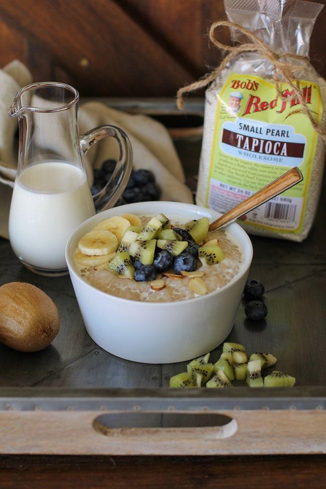 Coconut Tapioca Pudding - vegan, refined sugar-free, gluten-free |