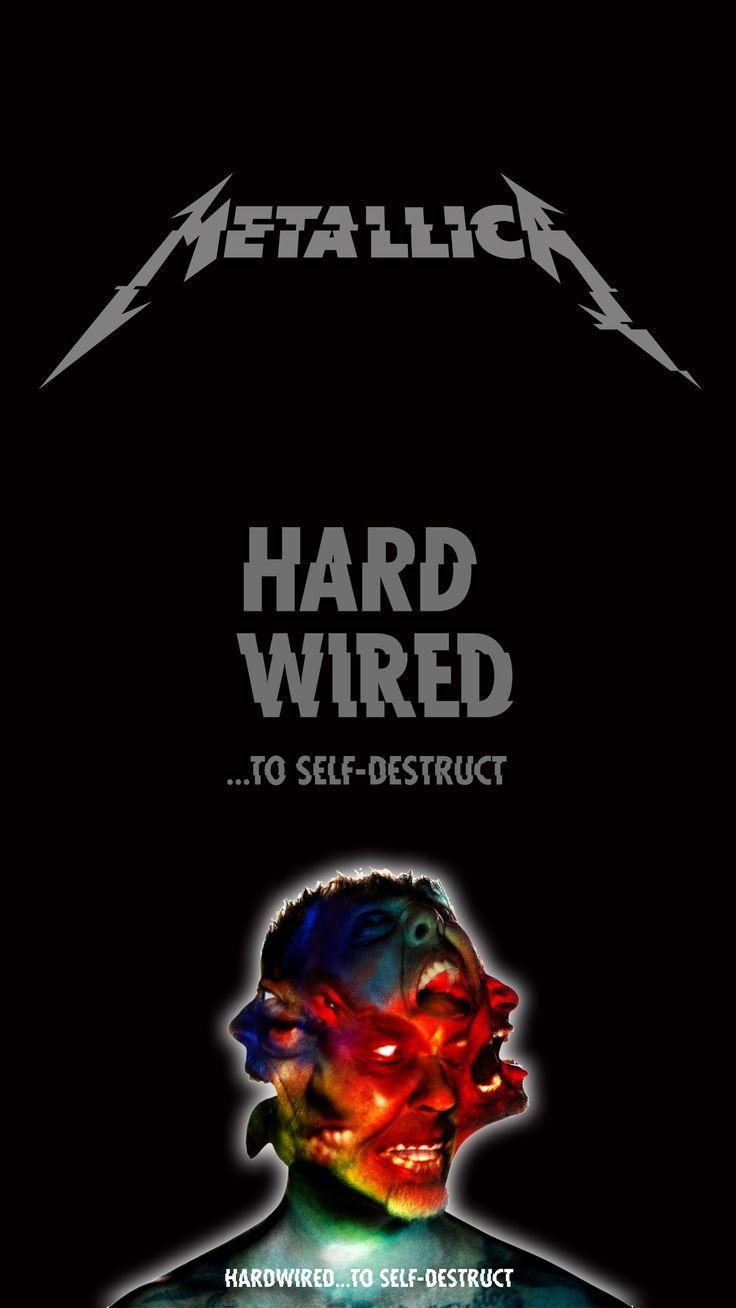 "for wallpaper smartphone 5"" #metallica #hardwired"