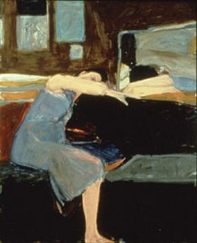 Richard Diebenkorn - Sleeping Woman (1961)