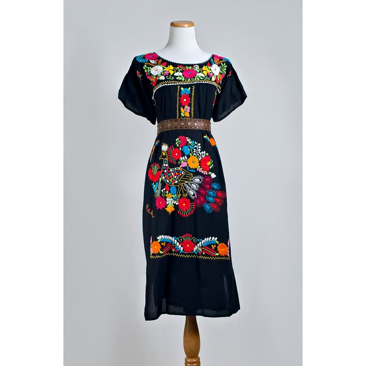 Mexican Embroidered Blouses For Sale 28