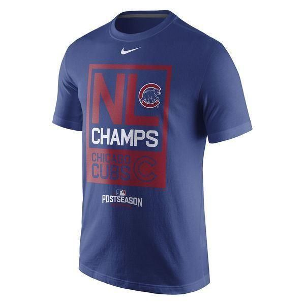 Chicago Cubs T-Shirt Men's Nike 2016 National League Champs Tee