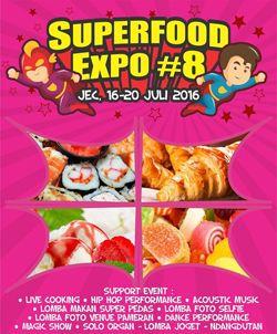 Superfood Expo Ke-8 http://www.perutgendut.com/read/superfood-expo-ke-8/1417 #Event #Food #Kuliner #Indonesia