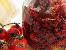 Вяленые помидоры – готовим в микроволновке.