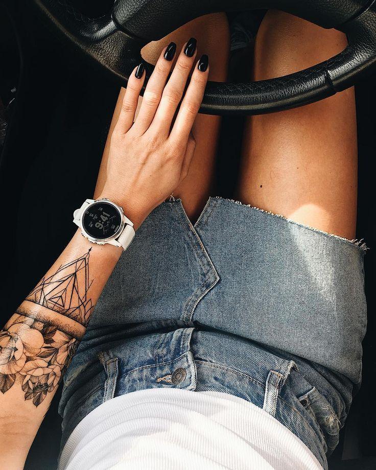 Handgelenk- und Armbandtattoos für Frauen und Männer; Armband Tattoos Herren; … – Tribal arm tattoos