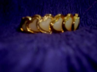 Button Bracelet.Valentine's day special.
