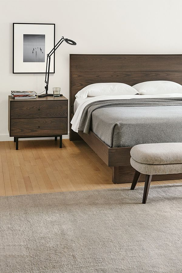 Hudson Nightstands With Steel Base. Bedroom Furniture SetsBedroom Ideas Modern ...