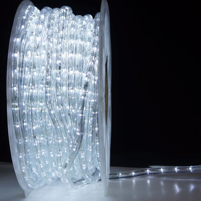 1 2 Inch Pure White Led Rope Light 150 Foot Spool In 2019 Led