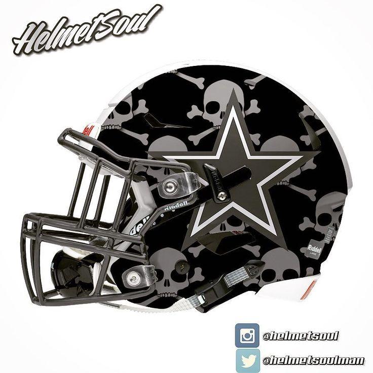1000 images about football helmets on pinterest oakland - Dallas cowboys concept helmet ...