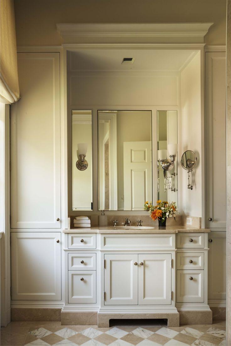His Bathroom - John B. Murray Architect