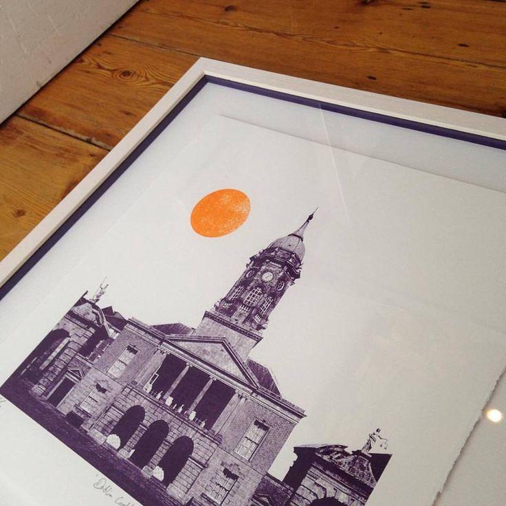 Dublin Castle screen print - Shane O Driscoll