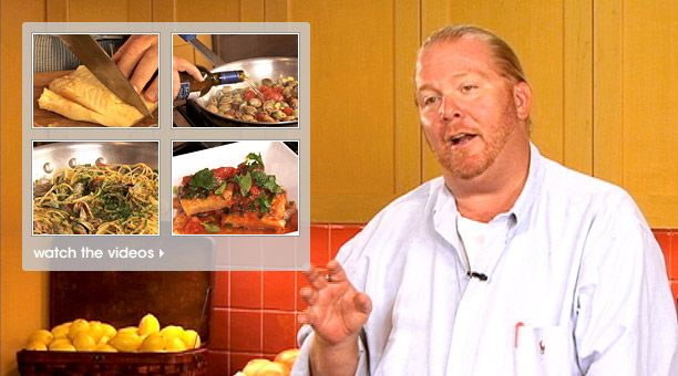 Batali's FEST of the SEVEN FISHES, a video guide to prep a traditional Italian Christmas Eve dinner