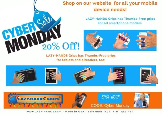 Find all the best online deals today and take advantage of all the discounts available! #CyberMonday  Visit us at www.lazy-hands.com  #iphone #samsung #amazon #kindle