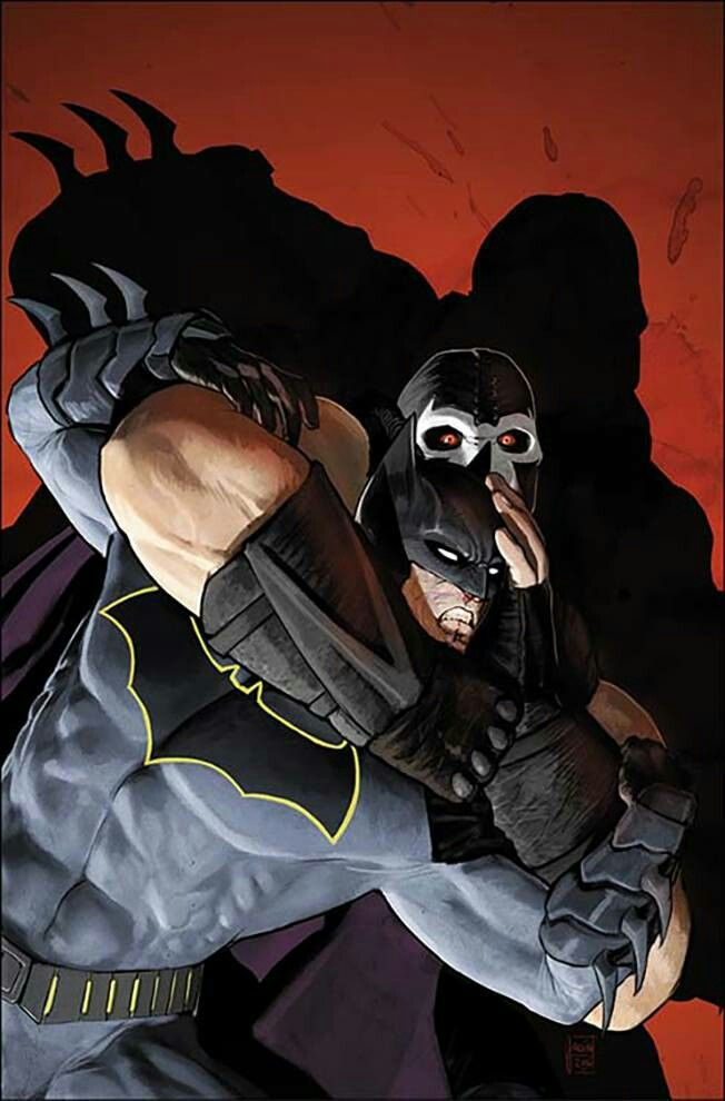#Batman vs #Bane by Mikel Janin