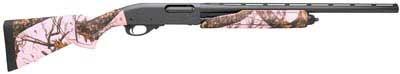 Remington 870 Express Pink Camo 20Ga Shotgun for bird hunting