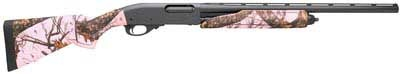 Remington 870 Express Pink Camo 20Ga Shotgun for bird hunting