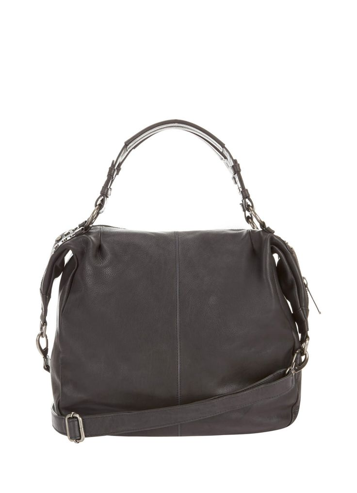 Charcoal Kirsten Slouch Tote | Bags | MintVelvet