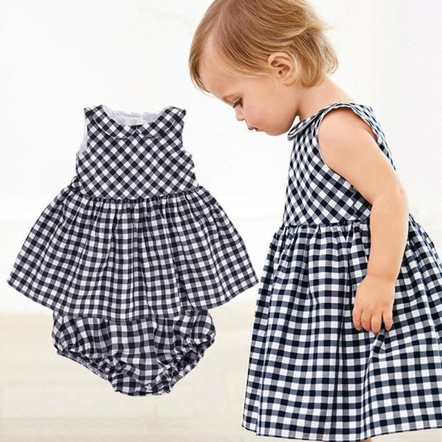 Для Новорожденных Девочек Платье+ шорты Набор – Optimprice