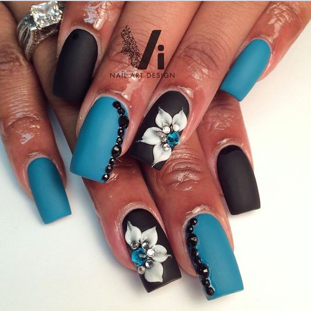 3d nail art                                                                                                                                                                                 More https://www.facebook.com/shorthaircutstyles/posts/1760995437524229