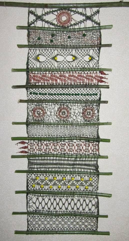 the individual strips are typical and traditional. But the way of putting them together is unique. Marie-Luize Prinzhorn