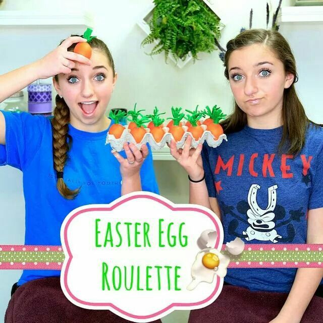 Easter Egg Roulette Challenge Brooklyn And Bailey