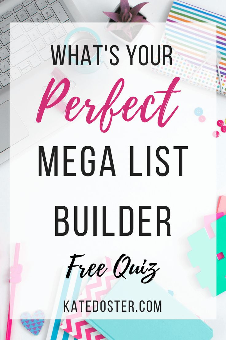 [Free QUIZ] Which mega email list building strategy will work best for your blog when it comes to growing your email list and online sales fast? We break down 5 mega lead magnets and match you with the perfect fit for your personality. Click now or save for later!