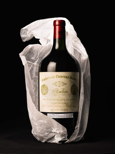 Château Chival Blanc 1947 ~ A true gent knows what this means ~ red wine ~