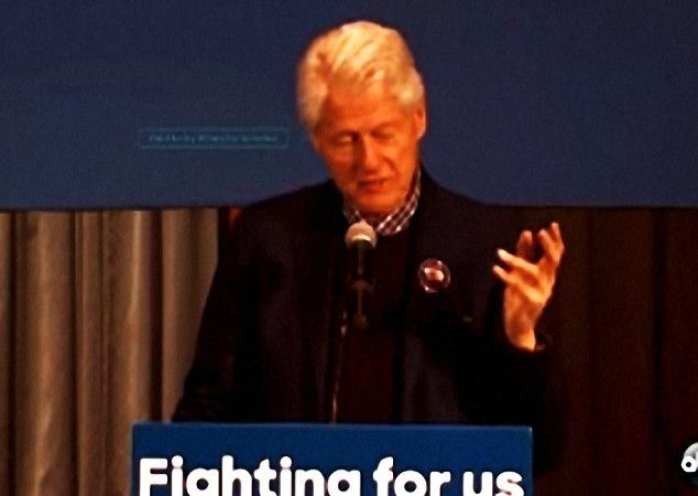 BILL CLINTON'S HEALTH SPIRAL: In addition to the obvious hand shaking, Bill Clinton in this video can be heard struggling to speak because his voice is so rough and hoarse, which is one of the major signs of Parkinson's. If you have not listened to him speak recently, the dramatic decline in his health might shock you. #BillClinton #ParkinsonsDisease #NTEB http://www.nowtheendbegins.com/does-video-show-evidence-that-bill-clinton-has-parkinsons-disease/
