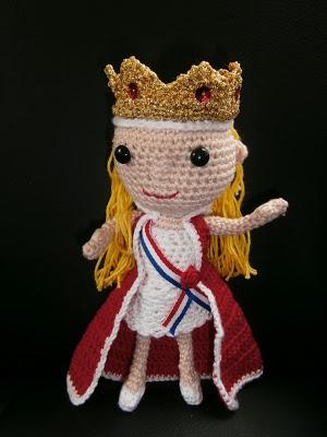 knutsel-mamCrochet Kingsday, Koningin Geknutseld, Creatief Koningsdag, Crochet Holland, Crochet Amigurumi, Troonopvolg Willems Alexander, Crochet Poupée, Amigurumi Dolls, Crochet Haken