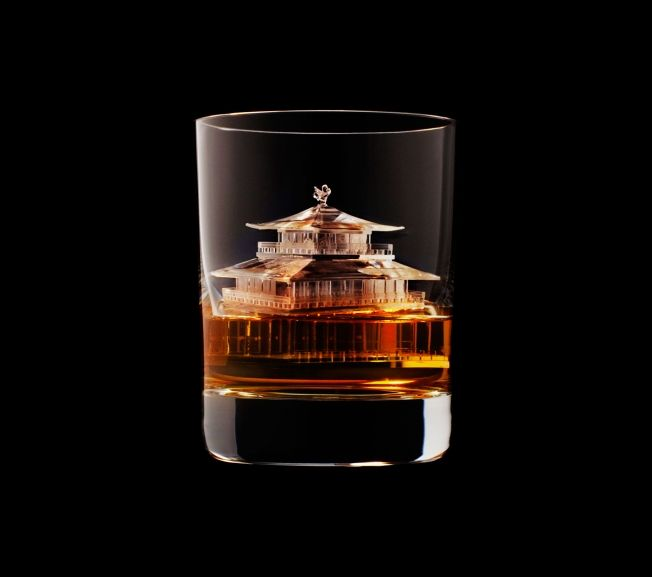 Suntory Whisky 3-D Printed the World's Most Incredible Ice Cubes | Adweek